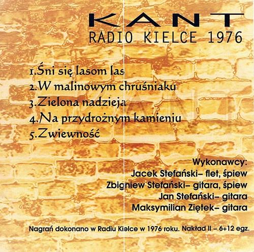 Płyta KANT (rewers)